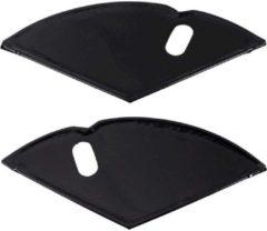 Merkloos / Sans marque Jasbeschermer 26 lakdoek zwart