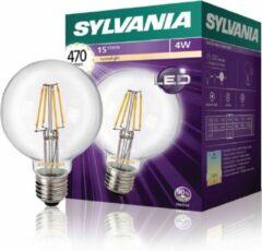 Sylvania Retro Filament LED lamp GLOBE 4W 470LM E27 2700K