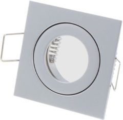 Ledin LED line Inbouwspot - Vierkant - Waterdicht IP44 - MR11 Fitting - 55x55 mm - Mat Grijs