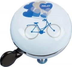 Blauwe BEL XLC BICYCLE DING DONG 66MM BL