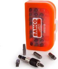 BAHCO 59/S31B bitset, 31-delig in kunststof doosje, met adapter