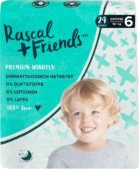 Rascal+Friends Baby Luiers maat 6, 16+ kg (24 stuks)
