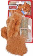 Kong Speeltje Pluche Eekhoorn - Kattenspeelgoed - Bruin