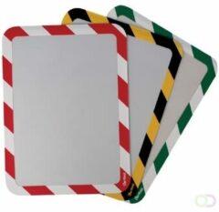 Tarifold Technic Tarifold tas met magnetische strips, ft A3, groen/wit, pak van 2 stuks