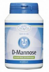 Vitakruid D-Mannose Voedingssupplement - 90 capsules