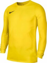 Nike Park VII LS Sportshirt - Maat S - Unisex - geel Maat S-128/140