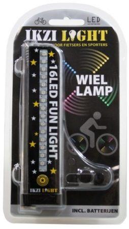 Afbeelding van Grijze Ikzi Light IKZI-Light - Spoke Light - 16 LEDS - 4 kleuren
