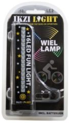 Grijze Ikzi Light IKZI-Light - Spoke Light - 16 LEDS - 4 kleuren