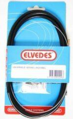 Zwarte Elvedes 3 Meter USB kabel voor oa iPhone 3 / 4 / 4S / iPad 1 en iPod