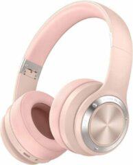 MeGoo Koptelefoon voor kinderen en tieners | B21 | draadloos | bluetooth | touch | roze