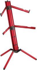 König & Meyer 18860 Spider Pro Keyboard Stand (Red)