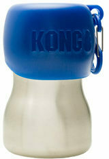 KONG H2O Stainless Steel Water Bottle - Blauw - 280 ml