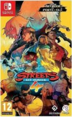 Just for games Streets of Rage 4 (Artbook et Porte-Clef inclus) - Nintendo Switch