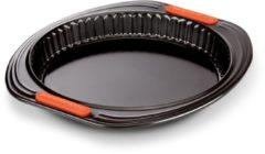 Zwarte Le Creuset - Taartvorm met losse bodem - Ø 28 cm - Zwart