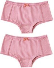 Little Label Meisjes Hipster (2 pack) - roze - Maat 134-140