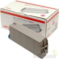 OKI C7100, C7300, C7350, C7500 tonercartridge magenta 10.000 paginas 1