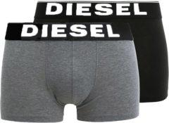 Grijze Diesel - Heren Onderbroeken 2-pack boxers - Zwart - Maat M