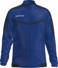 Jartazi Sportjack Torino Poly Polyester Marineblauw Maat S