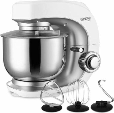 Afbeelding van Deuba Keukenmachine Noblesse zilver 1000W 4,5L