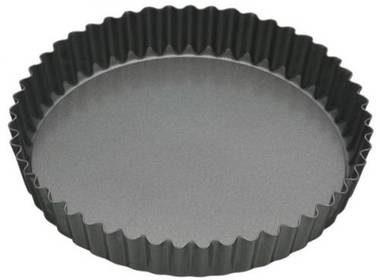 Afbeelding van Masterclass Ronde geribbelde (quiche) bakvorm met losse bodem, 25 cm - Masterclas