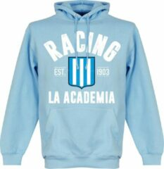 Retake Racing Club Established Hooded Sweater - Lichtblauw - M