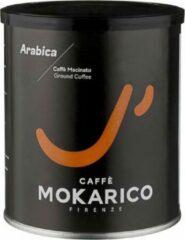 Mokarico - 4 x 250gr Arabica 100% - Gemalen koffie - Hoogste Kwaliteit - Premium Roaster