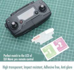 Zwarte Merkloos / Sans marque 2 * Afstandsbediening LCD protector mavic 2 pro zoom