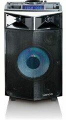Lenco PMX-240 - Party Speaker met 150w vermogen incl microfoon - Zwart