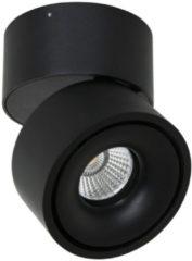 Mexlite Fez spotje | draai- en kantelbaar | incl. ingebouwde LED | mat zwart
