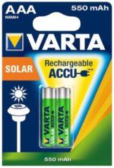 Varta Cons.Varta 56733 Bli.2 - Akku Solar AAA 2er 1,2V/550mAh/NiMH 56733 Bli.2, Aktionspreis