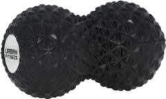 Uf equipment EVA Peanut massage roller - Urban Fitness - zwart
