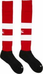 Canterbury Kousen - Maat 39-43 - UnisexUnisex - rood/wit