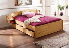 Home affaire Bett »Sofia«, mit integrierten Nachttischen, in verschiedenen Breiten und 2 Farben