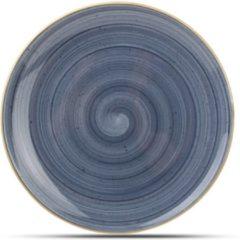 Blauwe Bonna Dessertbord 21 cm. Dusk