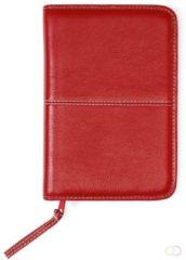 Rode Succes Agenda Omslag Standard 20 mm Cadiz / Stitch Rood