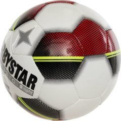 Derbystar Classic TT Superlight Voetbal Kinderen - wit/rood/geel - maat 3 - 3 vlakken