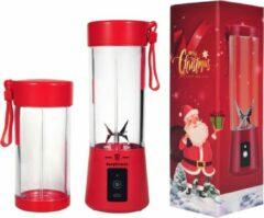Easyblender- Blender- Easyblends Pro- Extra cup- Rood- Draagbaar- Kersteditie- Kerstcadeau