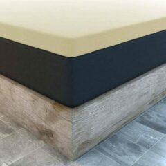 Creme witte Suite sheets Topper Hoeslaken Jersey Crème 2-Persoons - 140 x 200 cm