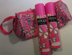 Vogue Girl Geschenkset - Butterfly Deospray + Glitterspray