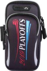 ZWC - iPhoneHoesjes.nl Universele sportarmband voor smartphone tot 190 x 90 mm - zwart