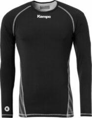 Kempa Attitude LS Sportshirt performance - Maat 164 - Unisex - zwart