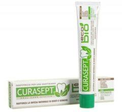 Curasept EcoBio Tandpasta - Tandpasta - 75ml - inclusief plant- en bloemextracten