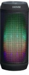 Denver BTL-62 bluetooth speaker met lichteffecten, FM radio en oplaadbare batterij
