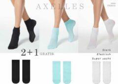 Turquoise AXELLES Super zacht Multipack Dames Geschenkset Maat 36-39