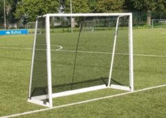 Witte Buffalo voetbaldoel World Cup (225x175x80cm)