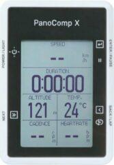 Witte Topeak fietscomputer Pano X inclusief sensor