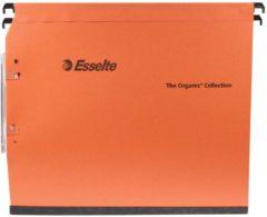 Bruna Hangmap Esselte Orgarex Dual lateraal 15mm oranje