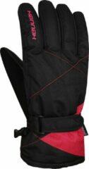 Hannah Handschoenen Pammy Dames Polyamide Zwart/rood Maat S