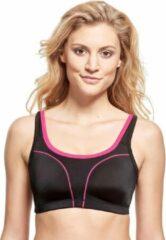 SUSA Sport-BH 7897   Zwart-pink  SU7897-244F80 P