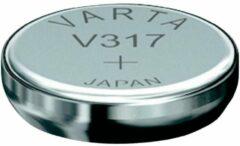 Varta SR516 SW/SR62 SW/V317 1BL Zilver-oxide (S) 1.55V niet-oplaadbare batterij
